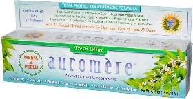 美國熱賣Auromere草本牙膏-iHerb限時推薦